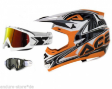 Casco Cross ACERBIS Profile Arancione tg xl