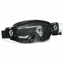 Scott USA OCCHIALE Tyrant WFS Black Goggle W/Roll Off System Anti-Stick Lens Motocross MX