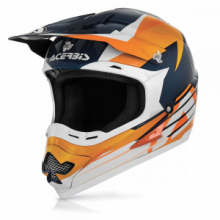 ACERBIS CASCO CROSS MOTARD PROFILE 15 ARANCIO TG S