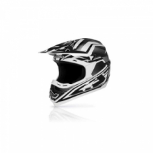 ACERBIS CASCO CROSS MOTARD PROFILE 14 NERO TG XS