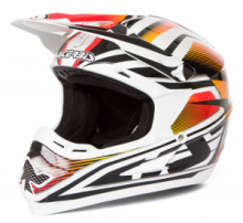 ACERBIS CASCO CROSS MOTARD PROFILE 14 RED TG L