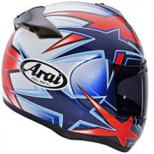 ARAI AXCES II ASTEROID RED TG-L